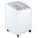 UDD 100 SCEB - Mélyhűtőláda ferde, csúszó domború üvegtetővel