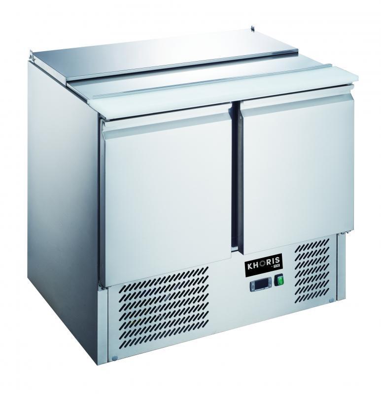 KH-S900 | Salátahűtő felnyitható fedéllel