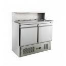 KH-PS900 | Pizzaelőkészítő asztal (salátahűtő betéttel)
