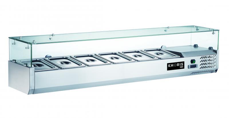 KH-VRX1800/380 | Feltéthűtő (8 x GN1/3)