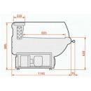 LCT Tucana 01 SELF REM 1,25 | Önkiszolgáló csemegepult