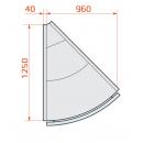 LCP Pegas SPH SELF REM EXT45 | Önkiszolgáló külső sarokpult 45°