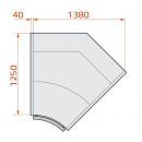 LCP Pegas SPH SELF INT45 | Önkiszolgáló belső sarokpult 45°