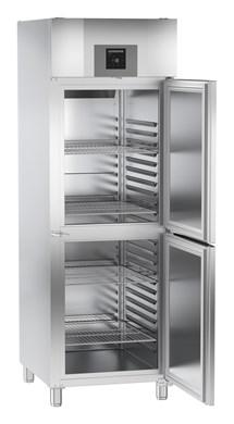 GGPv 6577 | LIEBHERR Osztott ajtós egy légterű mélyhűtő szekrény