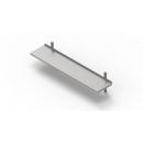 400x400 | Rozsdamentes állítható perforált falipolc
