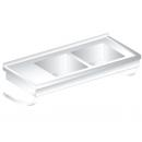 3271 - INOX Suspended table sink 600mm
