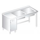 3015 - INOX Sinks 700mm