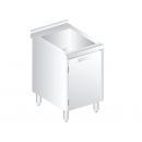 3231 - Rozsdamentes mosogató alsó tárolóval 600mm