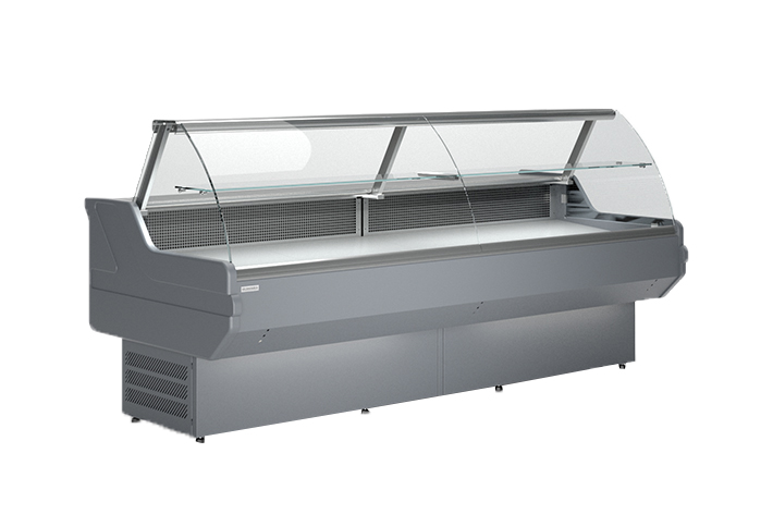LCD Dorado REM 1,2 | Hajlított üvegű csemegepult