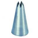Habcső csillag alakú nyílással 4 mm