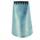 Habcső félig cakkozott nyílású 16x2 mm
