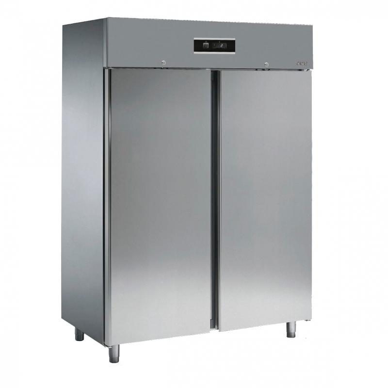 HD15T   Kétajtós hűtőszekrény (Rozsdamentes megjelenésű, ujjlenyomat mentes bevonattal)