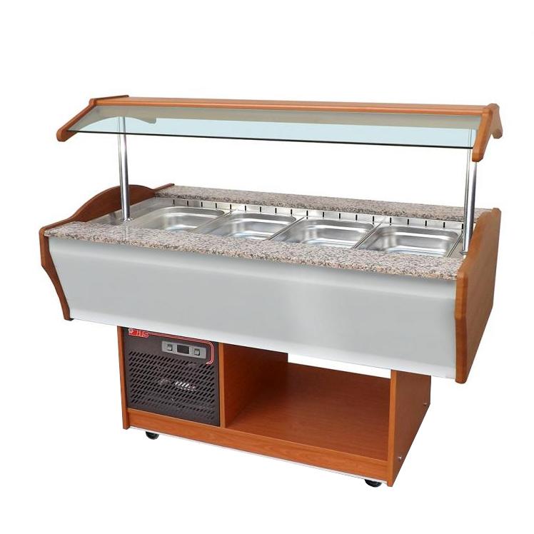 SB-C-TV 120 | Salátahűtő kocsi (felső ventilációs)