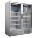 CC 1600 GD (SCH 1400 S) INOX | Rozsdamentes hűtővitrin