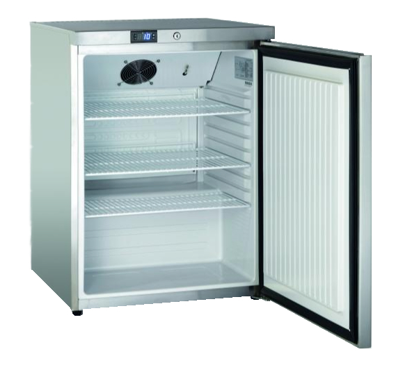 SK 145   Rozsdamentes hűtőszekrény