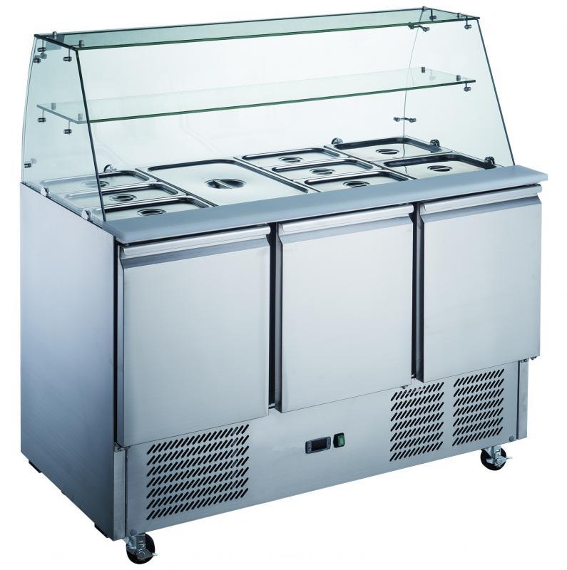 KH-S903SQ   Salátahűtő 3 ajtóval