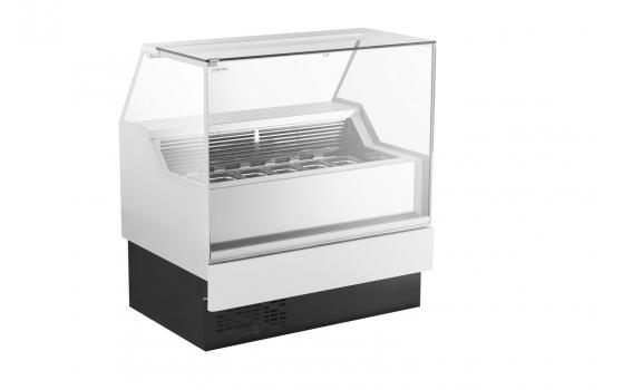 VERTIKA Ice6 | 6 tégelyes fagylalt pult
