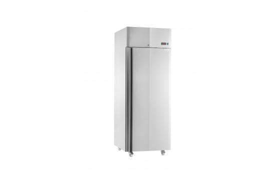 GASTRO C500 INOX | Teleajtós rozsdamentes hűtőszekrény