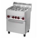 SPT 60 GL | 4 égős gáztűzhely légkeveréses sütővel - BEMUTATÓTERMI DARAB