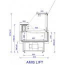 AMIS LIFT 0.94 | Csemegepult