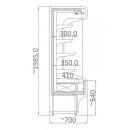 RCH5 0.7 | Hűtött faliregál