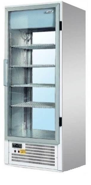 SCH 402 INOX | Rozsdamentes hűtővitrin