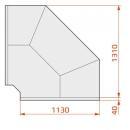LCD Dorado D SELF EXT90 | Önkiszolgáló külső sarokpult 90°