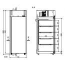 SLMB 500 | Laboratóriumi mélyhűtő -45°C