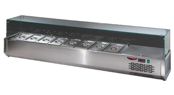 VR3215VD | Feltéthűtő 9 x GN 1/3