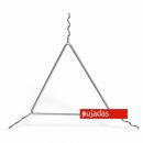 Szűrőtartó háromszög formájú rozsdamentes 29cm