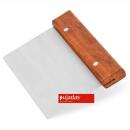 Tésztakaparó rozsdamentes fa fogóval 15,2x7,6x11,3cm