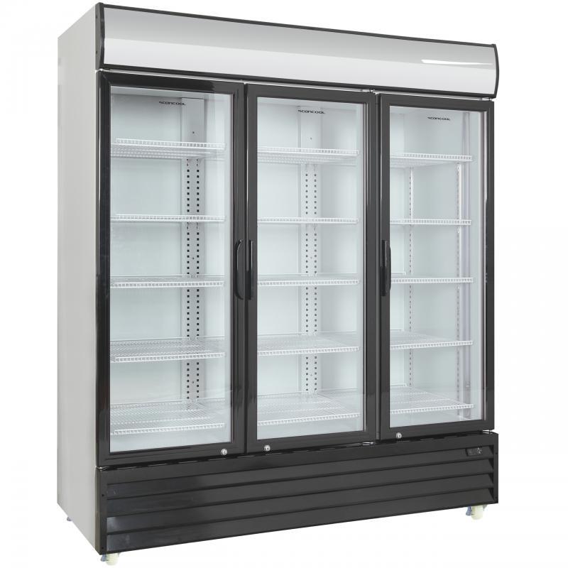 SD 1502 HE   Üvegajtós hűtővitrin