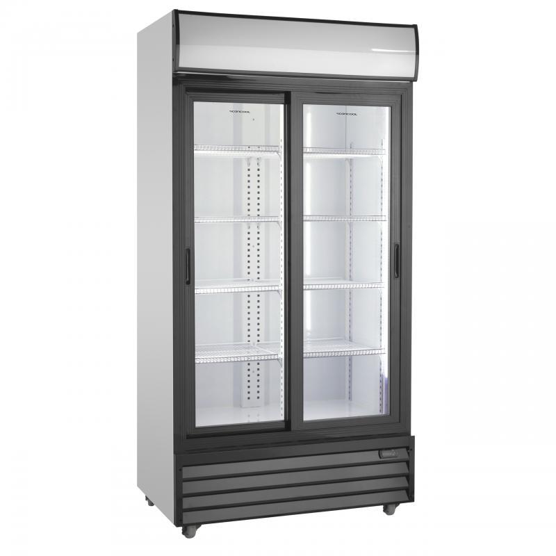 SD 1002 SLE | Csúszó üvegajtós hűtővitrin