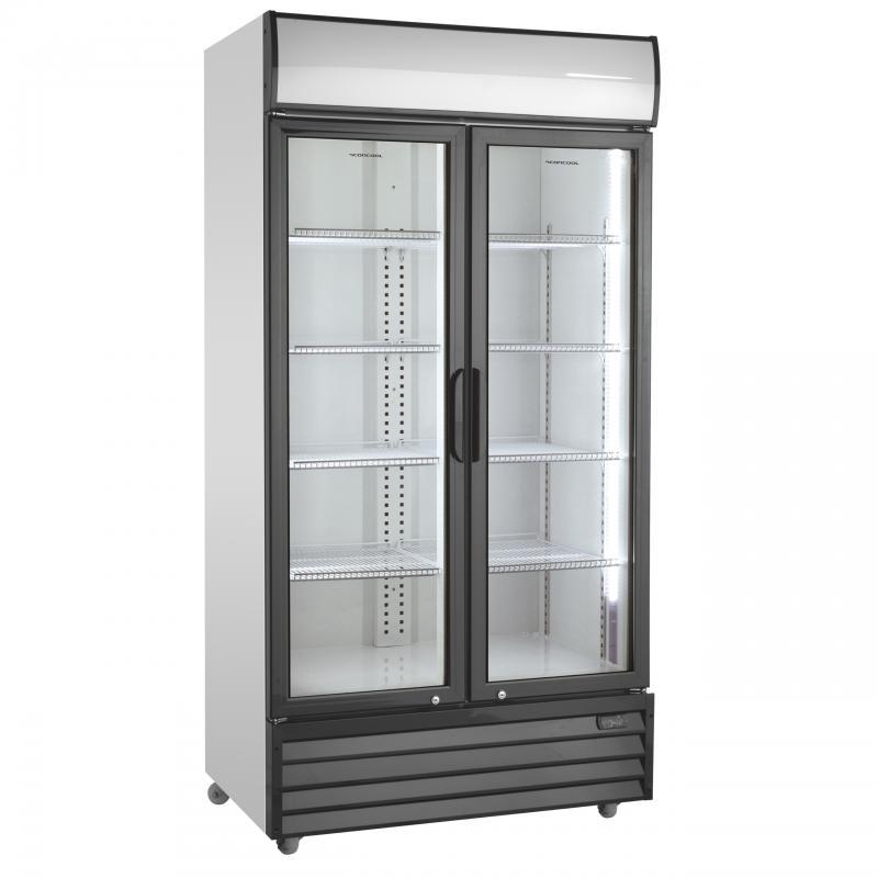 SD 1002 HE | Nyíló üvegajtós hűtővitrin