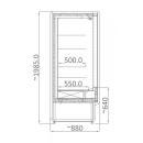 RCH 4D - 1.0 | Hűtött faliregál