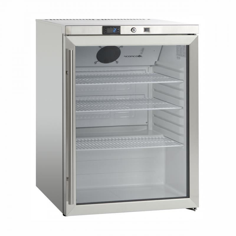 SK 145 GDE | Rozsdamentes hűtővitrin