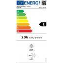 (KH-CF280 BK (UED 280) | Felnyitható teletetős mélyhűtőláda