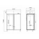 FR GASRTO 1400 (SMR 1400) | Fagyasztószekrény