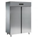 FD13T | Kétajtós rozsdamentes hűtőszekrény