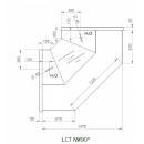LCT Tucana 01 INT90 - Belső sarokpult 90°
