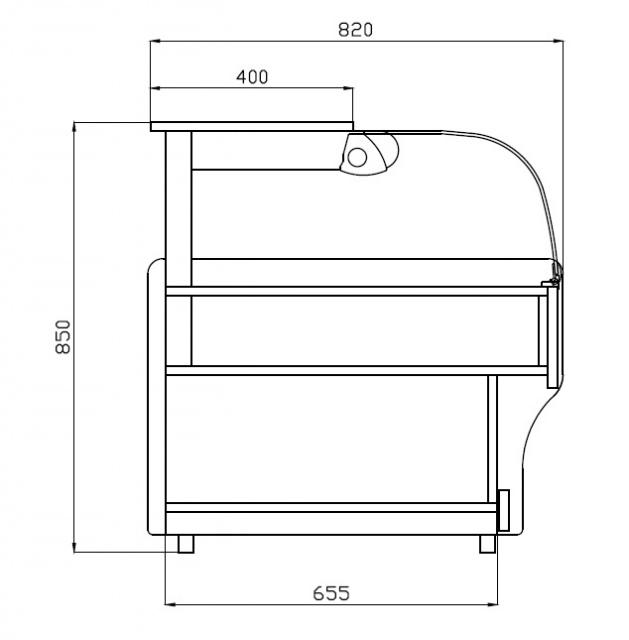 LECN-L 1,0/0,9 - Semleges pultelem laminált borítással