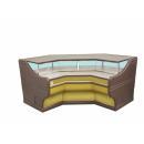 LS-R1Bw SANTANA | Belső sarok pénztárpult WCH-1/B-hez