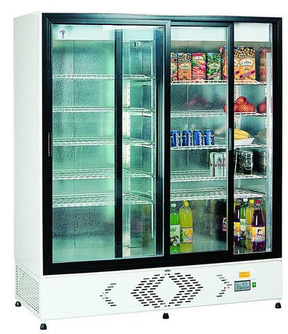 ECO+ C1400 - Csúszó üvegajtós hűtővitrin