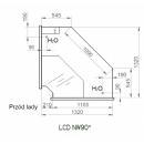 LCD Dorado D INT90 - Belső sarokpult 90°