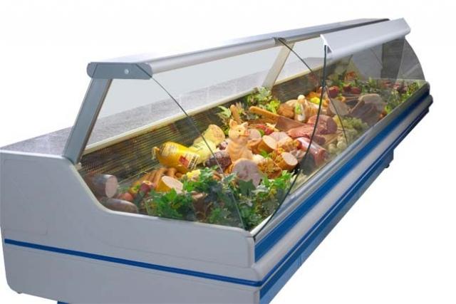 LCD Dorado D REM 1,2 - Hajlított üvegű csemegepult
