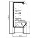 RCH 1.1/0.9 - Hűtött faliregál