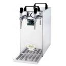 KONTAKT 40/K Profi Green Line - Dry contact double coiled beer cooler with built-in air compressor