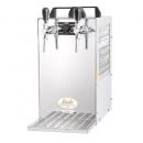 KONTAKT 70/K - Dry contact double colied beer cooler with built-in air compressor