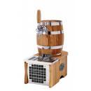 SOUDEK 1/8 HP Barrel-like single coiled beer cooler (CO2)