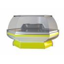 NCH SN Z | Hajlított üvegű külső sarokpult
